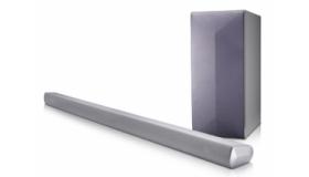 LG 2.1 Ch 320W Soundbar with Wireless Subwoofer LAS550H